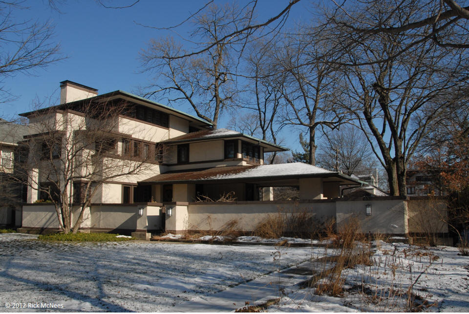 Frank Lloyd Wright Wm Martin House Oak Park 1903