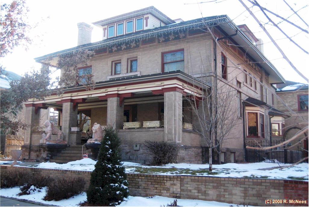 Frank Lloyd Wright And Prairie School Arhictecture In Denver